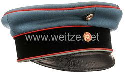 Baden Schirmmütze für Offiziere im 3. Badischen Dragoner Regiment Prinz Karl Nr. 22