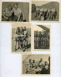 Luftwaffe Fotogruppe, Einsatzpause zwischen den Feindflügen