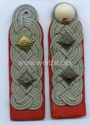 Wehrmacht Heer Paar Schulterstücke für einen Oberst der Artillerie