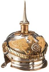 Preußen Helm Modell 1867 für einen Oberst in Generalsstellung in einem Kürassier Regiment