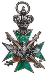 Sachsen Weimar Eisenach Großherzoglich Sächsischer Hausorden der Wachsamkeit oder vom Weißen Falken Ritterkreuz 2. Klasse