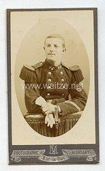 """Frankreich Kabinettfoto eines Soldaten im 94. InfanterieRgt. aus """"Bar Le Duc"""""""