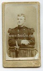 Frankreich Kabinettfoto eines Soldaten um 1900