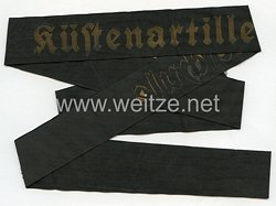 "Mützenband ""Küstenartillerie=Schule"""