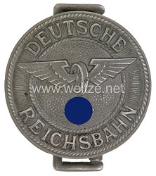 III. Reich Deutsche Reichsbahn / Bahnschutz Feldbindenschloß für Führer