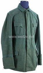1. Weltkrieg Württemberg Feldbluse M 1915 für Mannschaft feldgrau der Regimenter im XIII. Armeekorps
