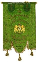 """Hamburg Banner der """"Landsmannschaft der Sachsen zu Hamburg, Altona und Umgebung"""""""