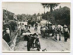 III. Reich Pressefoto. Französische Flüchtlinge kehren heim. 5.7.1940.