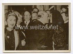 III. Reich Pressefoto. Ministerpräsident Daladier auf Korsika. 4.1.1939.