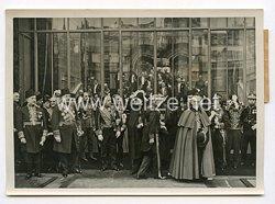 III. Reich Pressefoto. Das Diplomatische Corps im Elyse. 1.1.1939.