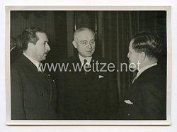 III. Reich Pressefoto. Am Jahrestag des Beitritts Ungarns zum Dreimächtepakt. 21.11.1941.