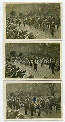 Kriegsmarine Fotos, Trauermarsch für einen hochdekorierten Soldaten
