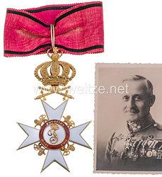 Württemberg Orden der Württembergischen Krone Kommandeurkreuz mit Schwertern
