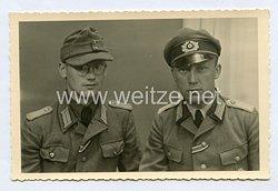Wehrmacht Heer Foto, Leutnant ohne Hoheitsabzeichen