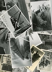 Kriegsmarine Fotogruppe, Dienst auf einem Leichten Kreuzer in Norwegen
