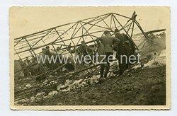 Luftwaffe Foto, Abgestürztes Flugzeug