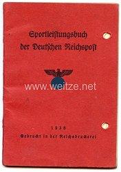 III. Reich - Sportleistungsbuch der Deutschen Reichspost