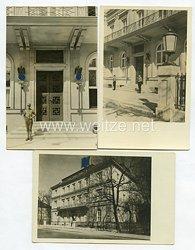 III. Reich Fotos, Parteizentrale der NSDAP (Braune Haus) 1931
