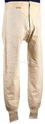Königreich Sachsen Erster Weltkrieg weiße lange Unterhose für einen Angehörigen desSchützen-(Füsilier-) Regiments Prinz Georg Nr. 108
