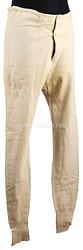 Königreich Sachsen Erster Weltkrieg weiße lange Unterhose für einen Angehörigen des Schützen-(Füsilier-) Regiments Prinz Georg Nr. 108
