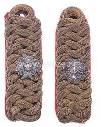 Königreich Bayern Paar Schulterstücke für Ritter des Militärischen Haus-Ritter-Orden vom Heiligen Georg
