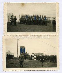 Allgemeine-SS Fotos, Aufmarsch der Fahnenträger