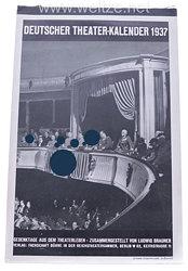 III. Reich - Deutscher Theater-Kalender 1937