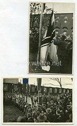 III. Reich Fotos, Gedenkveranstaltung des Stahlhelmbundes in Frankfurt 1936