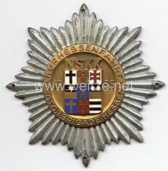 """NSKK - nichttragbare Teilnehmerplakette - """" Kurhessenfahrt 1935 Motorgruppe Hessen """""""