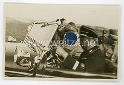 III. Reich Foto, Adolf Hitler in seinem Auto