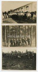Weimarer Republik Fotogruppe, Angehörige eines Kavallerie-Regiment der Reichswehr bei einer Übung