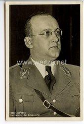 III. Reich - Portraitpostkarte von Reichsleiter der Kriegsopfer Hanns Oberlindober