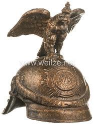 Preußen Tischdekoration Parade-Helm des Regiments Gardes du Corps