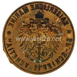"""Kaiserliche Marine Siegel/Petschaft """"SP. Schiff II """"Venetia"""""""""""