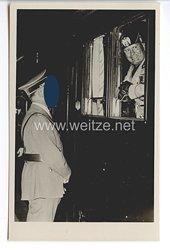 """III. Reich - Propaganda-Postkarte - """" Adolf Hitler - Benito Mussolini """""""