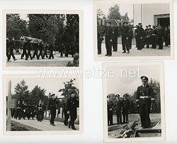 Kriegsmarine Fotos, Beerdigung eines Soldaten