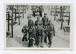 Wehrmacht Heer Foto, Beerdigung eines Soldaten