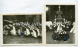III.Reich Fotos, Kranzniederlegung