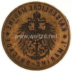 """Kaiserliche Marine Siegel/Petschaft """"I. Marine-Brigade"""""""