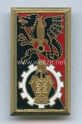 Frankreich Fremdenlegion Indochina Abzeichen für das 22. Pionier-Bataillon