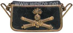Frankreich III. Republik Kartuschkasten für einen Offizier der Artillerie