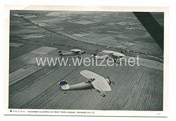 Luftwaffe Foto, Flugzeuge der Henschelwerke AG.