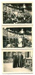 Kriegsmarine Fotos, Soldaten nach der E.K. 2 Verleihung