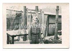 III.Reich Foto, Junge in Luftwaffen Uniform
