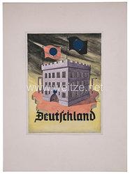 III. Reich Widerstand : Plakatentwurf eines Antifaschisten