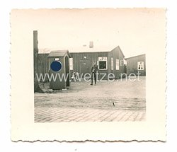 Reichsarbeitsdienst Foto, RAD-Lager Eingang