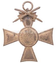 Sachsen Weimar Eisenach Ehrenkreuz der Krieger -u. Militärvereine