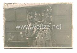 Luftwaffe Foto, italienische Soldaten