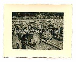Wehrmacht Heer Foto, eroberte Panzerabwehrgeschütze