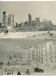 III. Reich Fotos, zerstörte Stadt Hamburg